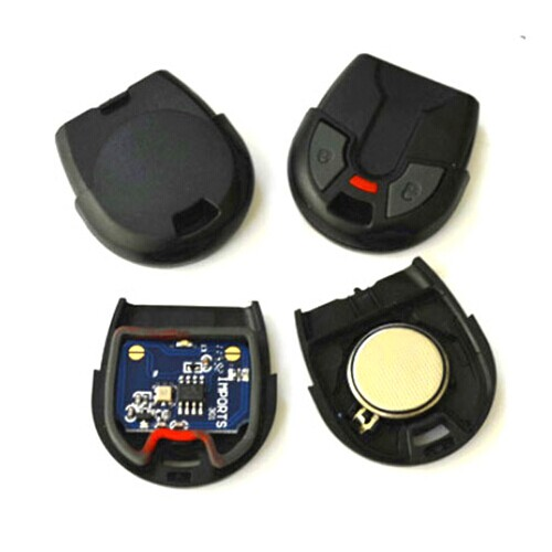 Supplier HSC300 For Fiat 2 button remote 433.92mhz Brazil Positron remote
