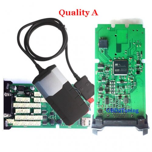 single pcb delphi ds150e tester 2014 2 delphi ds100e vci for car. Black Bedroom Furniture Sets. Home Design Ideas