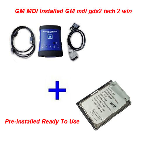 Supplier GM MDI China With Installed GM mdi gds2 tech 2 win software HDD