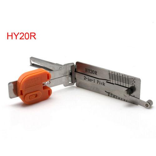 Supplier Smart Hyundai HY20R auto lock pick HY20R auto key decoder 2 in 1