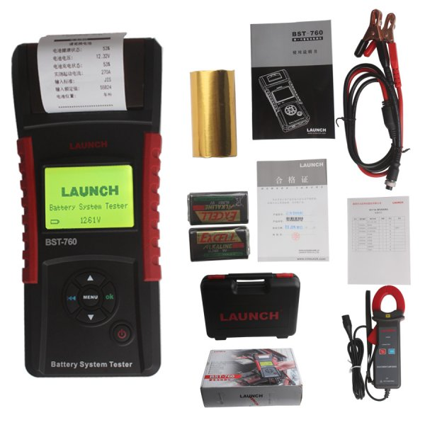 Launch BST-760 Battery tester BST760 Battery health testing tool