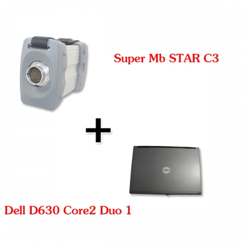 Supplier MB STAR C3 Multiplexer for Mercedes DAS Xentry with Dell D630