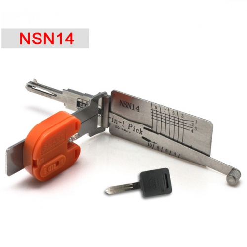Supplier For Nissan NSN14 smart 2 In 1 NSN14 auto lock pick key decoder
