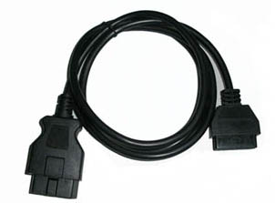 Supplier OBD2 16 Pin Male To Female diagnostic Extend  cables obdii