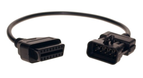 Supplier Opel 10pin obd to obd2 connector