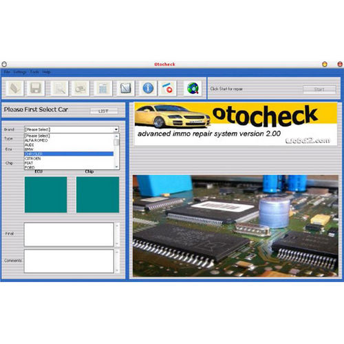 Supplier Otochecker 2.0 immo cleaner Otochecker immo tool v2.0 Otochecker