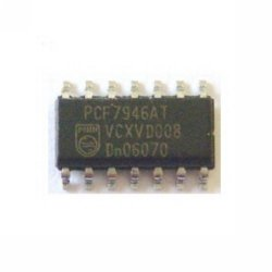 Supplier Philips nxp PCF7946 chip PCF7946 transponder ic for saab opel