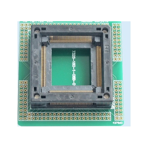 PQFP160 programmer adapter PQFP160 ic test socket