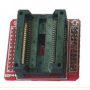 Supplier PSOP44 To DIP44 Test Socket 1.27mm TL866CS SOP44 Adapter