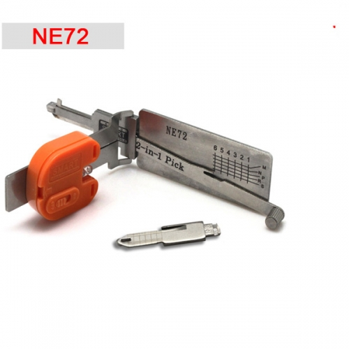 Supplier Peugeot 206 Renault NE72 smart 2 In 1 NE72 auto pick key decoder