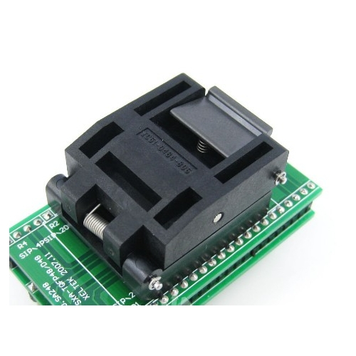 Test socket QFP48 PQFP48 TQFP48 to DIP48 programming adapter