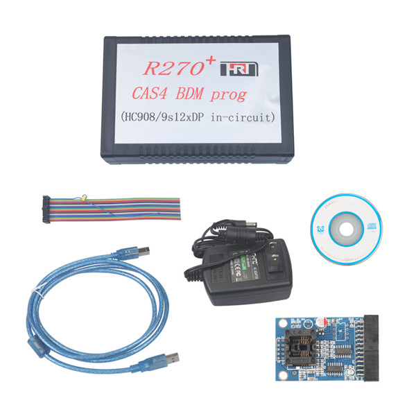 Supplier R270+ CAS4 BDM Prog V1.20 R270+ bdm programmer For BMW CAS4