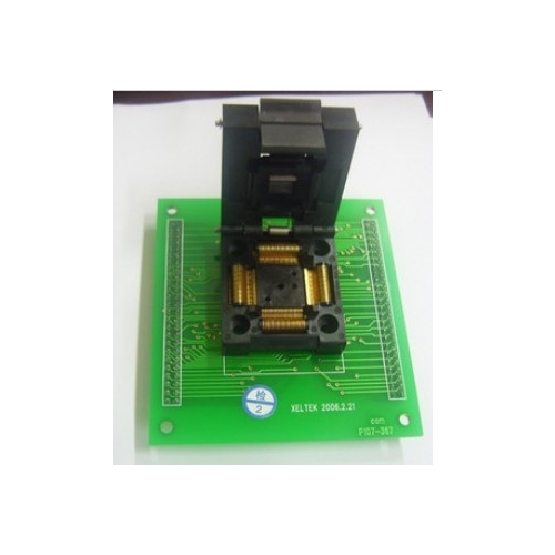 S604 TQFP100 test socket S604 TQFP100 programming adapter