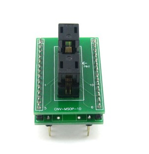 Supplier SSOP10 TO DIP10 socket adapter CNV SSOP10 ic chip socket MSOP10
