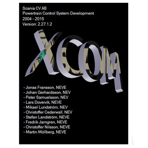 Supplier Scania XCOM 2.27 Scania XCOM software for VCI2 VCI3 chiptuning