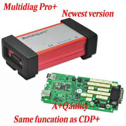Supplier Single PCB Multidiag pro+ cars trucks Bluetooth 2014.3 Multidiag