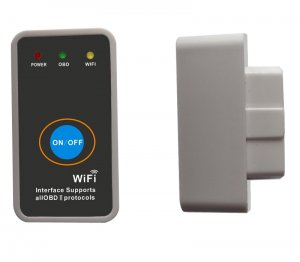 Super mini ELM327 WIFI iPhone Ipad wireless elm327 obdii scanner