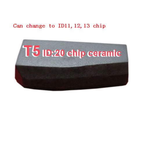 Supplier Blank T5 ID20 transponder chip Carbon can change ID11,12,13 chip