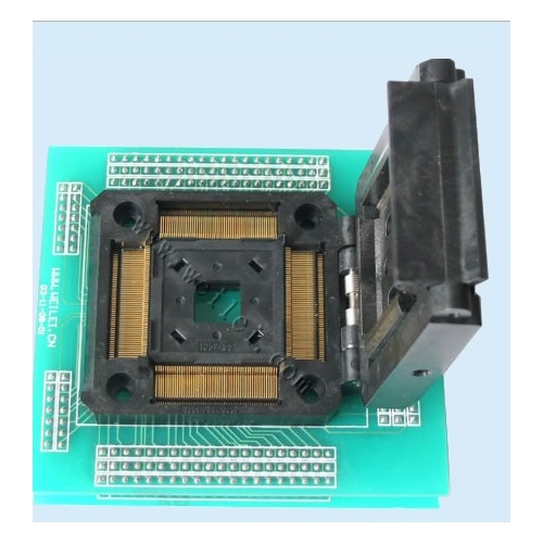 TQFP208 ic test socket TQFP208 programming adapter