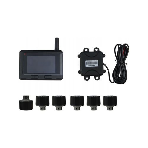 Supplier Color LCD display wireless TPMS TPE50 Truck tpms system repeater