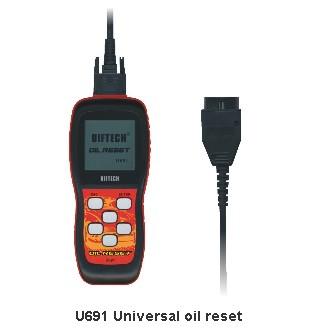 U691 universal oil reset Memoscan U691 OBDII code reader scanner