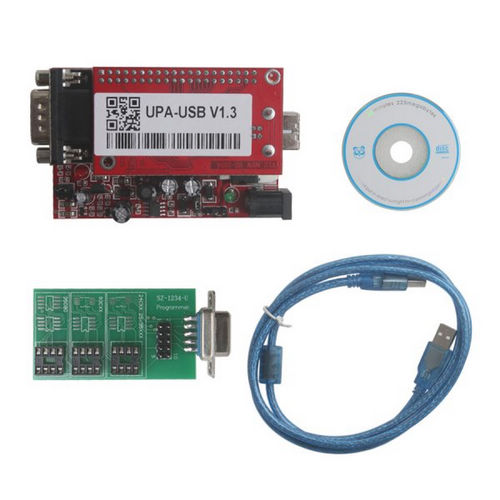 Supplier UPA USB 1.3 main unit UUSP UPA USB ECU Programmer Red PCB