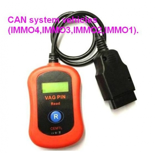 New Vag pin reader vag obd2 pin code reader for immo 1 2 3 4