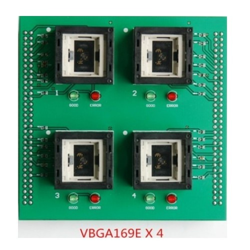 VBGA169EX4 Universal IC Programmer Socket Adapter up818 up828