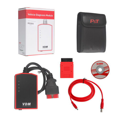 Supplier VDM UCANDAS V3.8 VDM UCANDAS android diagnostic scanner with Honda Adapter Support Andriod V4.0