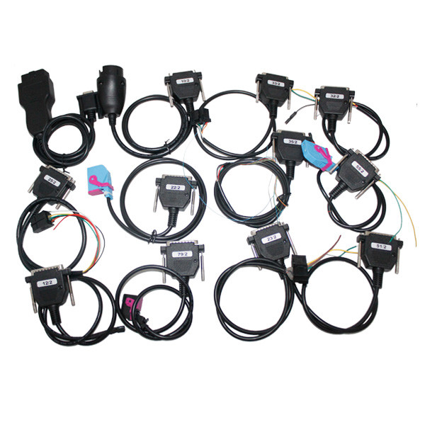Supplier Full set cables for digiprog iii digiprog 3 odometer all cables