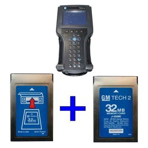 Gm tech ii Vetronix Tech 2 with 2pcs GM TECH2 32MB Cards