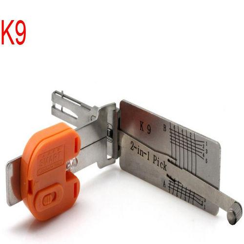 Supplier Smart K9 2 in 1 KIA locksmith K9 auto lock pick key decoder