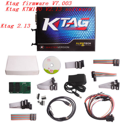 Ktag 2.13 Ktag firmware V7.003 Ktag KTM100 V2.13 No tokens limit