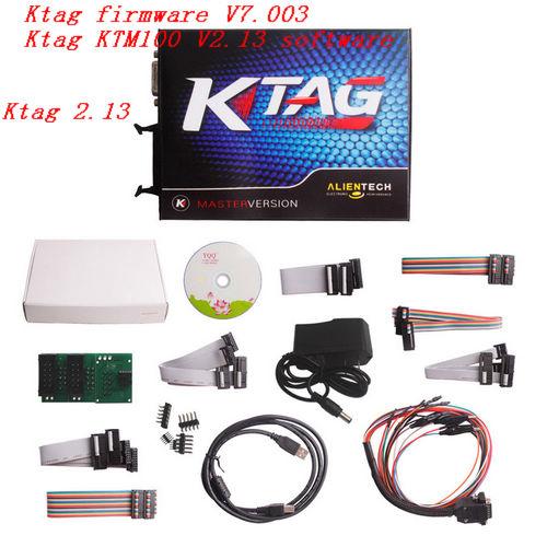 Ktag KTM100 V2.13 Ktag firmware V7.003