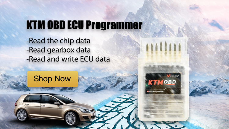 KTM OBD ECU Programmer & Gearbox Power Upgrade Tool Plug and Play