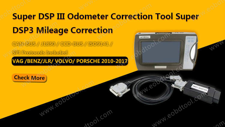 Super DSP III Odometer Correction Tool DSP3 Mileage Correction Tool