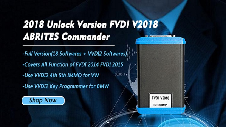 FVDI 2018 FVDI Abrites Commander FVDI Full Diagnostic Tool with 18 Softwares