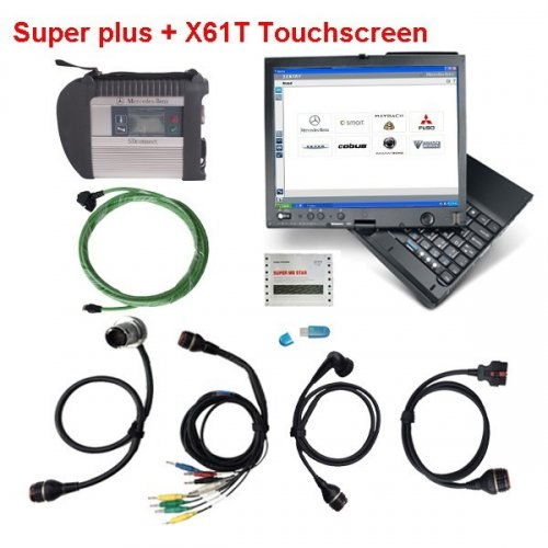 Supplier Mercedes multiplexer C4 with Lenovo ThinkPad X61T installed Mercedes das Xentry 2017.3 win 7 software