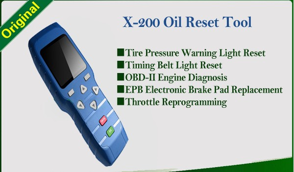 X-200 oil reset tool X200 Light Resetter X200 airbag reset