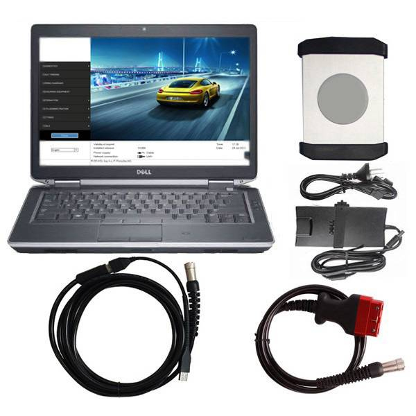 Supplier Porsche Piwis tester ii vci with V Piwis II Software  V18.150.500  For Porsche Installed Dell E6430 Laptop Ready to Use