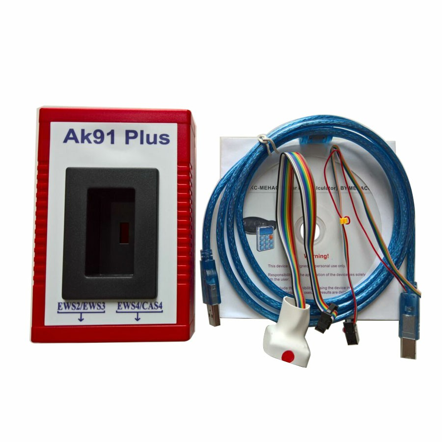Supplier AK91 Plus for BMW AK91 Key programmer with Latest Software 4.0.0 Support EWS 4+ Programmer
