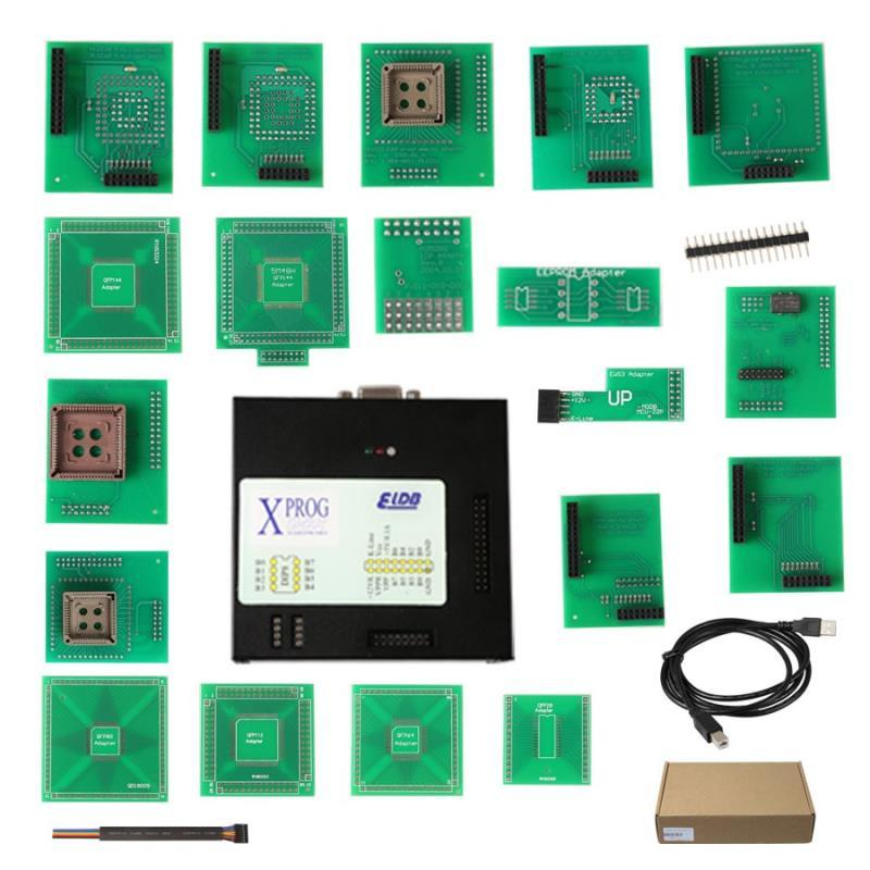 Supplier Latest Xprog m V5.72 Auto ECU Programmer Xprog Box 5.72 ECU Programming Tool without USB Dongle