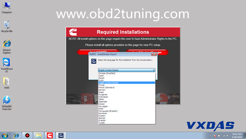 Supplier Cummins INSITE 8.3.0120 Software 8.3.0120 Pro Version No Time Limited and  work for Cummins Engine Vehicle Diagnostic & Programming