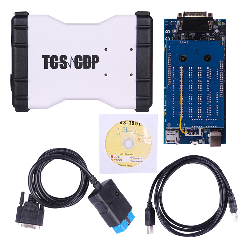 2014.02V TCS CDP For Cars/Trucks Diagnostic Tools for Multi-language TCS CDP without Bluetooth