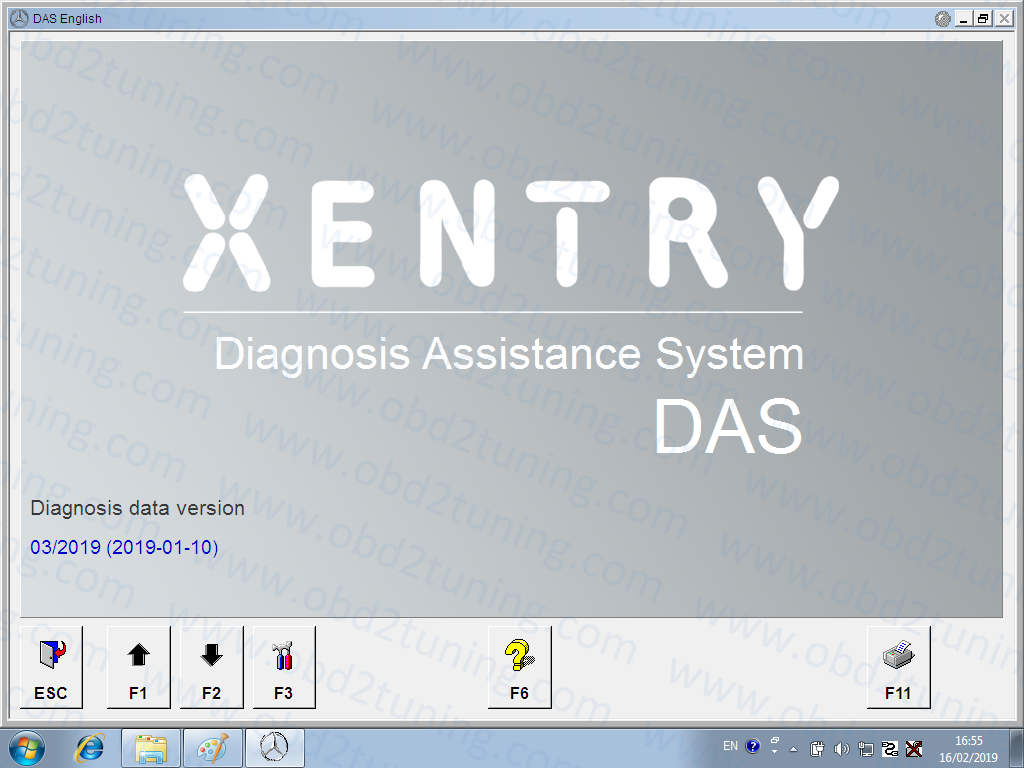 Mercedes Xentry Software 2019.03 HDD/SSD 2019.03V SD C4 Xentry Das Software WIN7 32bit Installed