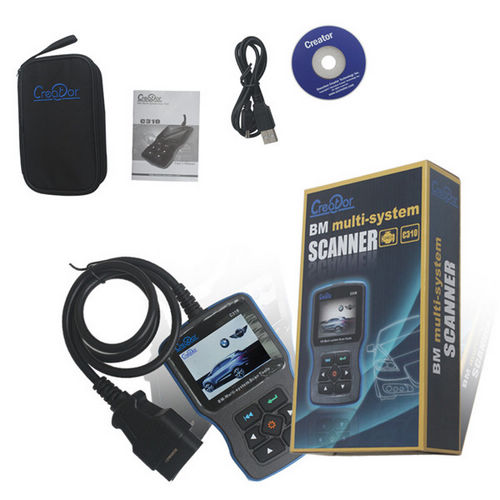 Supplier Creator C310 for bmw multi system scanner C310 obd2 code reader