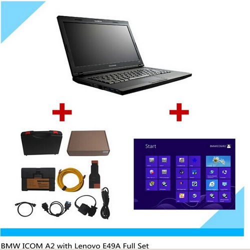 Supplier ICOM A2 B C with bmw Icom win7  2018.7 software installed on Lenovo E49A Laptop Ready to use