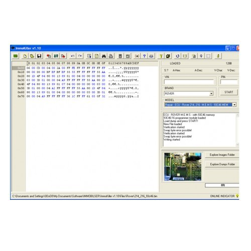 Supplier Immokiller 1.10 software Immo killer v1.1 pin code calculator