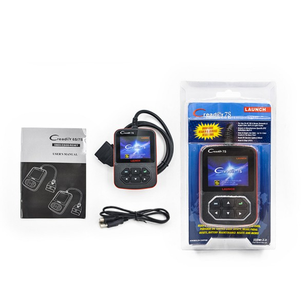 Supplier Launch Creader 7S Code reader X431 Creader 7S Launch oil reset