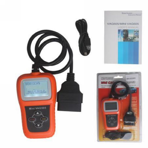Supplier Memoscan mini vag505 vag code reader Mini vag505 obdii scanner